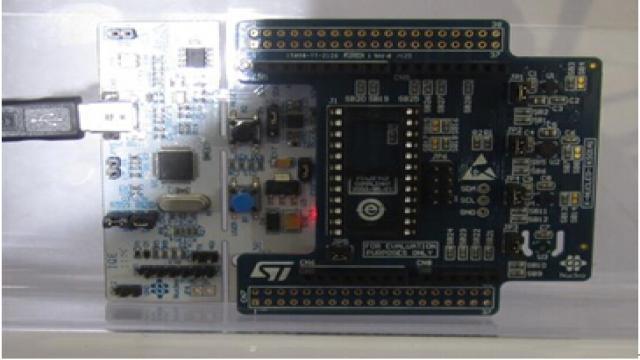 图:X-NUCLEO-IKS01A1评估板