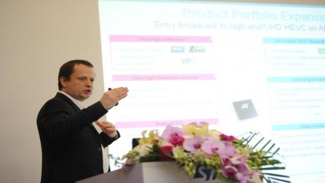 意法半导体事业部副总裁兼消费电子产品部总经理Philippe Notton
