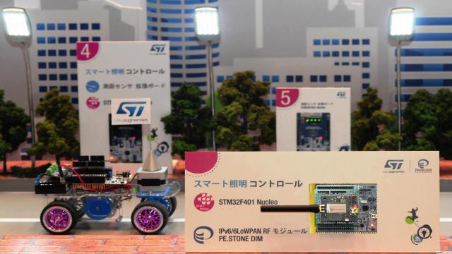 意法半导体(ST)与Paradox Engineering携手展示智慧城市技术1