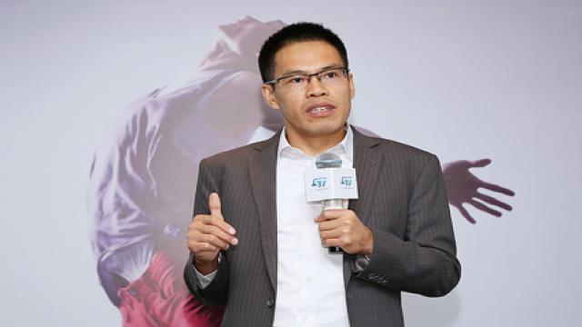 意法半导体(ST)中国区微控制器市场部高级经理曹锦东