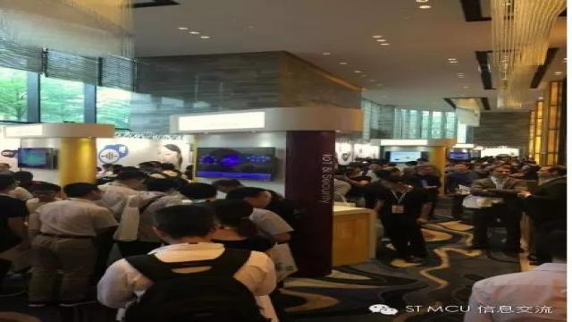 STM32中国峰会上展示了哪些成品?