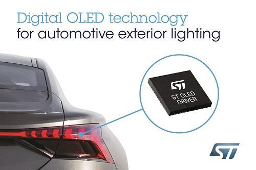 ST新闻稿2019年10月30日——意法半导体与奥迪合作,开发及提供下一代汽车外部照明解决方案