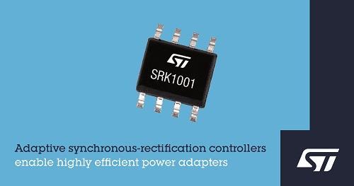 ST新闻稿2020年3月20日——意法半导体发布创新的同步整流控制器,适用于高效率经济型电源适配器_clean