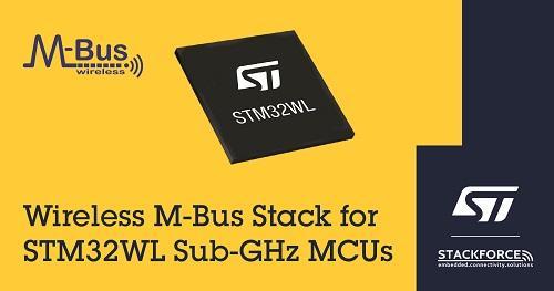 ST新闻稿2020年7月8日——意法半导体引入Stackforce的wM-Bus智能电表总线协议栈,丰富STM32WL无线微控制器生态系统
