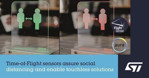 ST新闻稿2020年7月22日——意法半导体FlightSense™飞行时间接近及检测传感器,助力社交距离感知应用创新