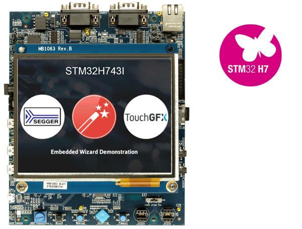 1.评估板:STM32H743I_EVAL