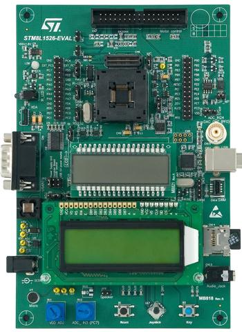 4.评估板:STM8L1526_EVAL
