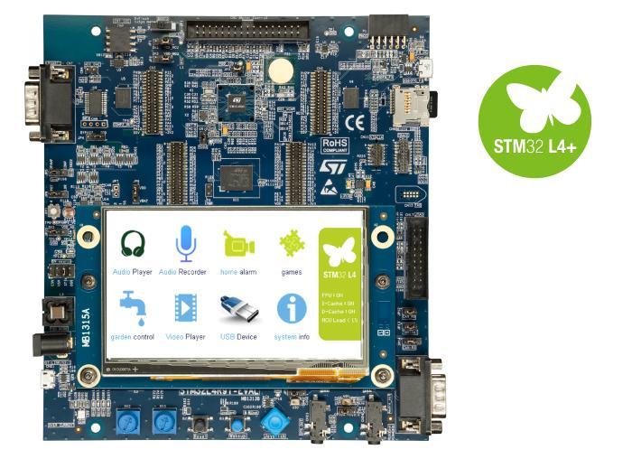 1. 评估板:STM32L4R9I_EVAL(STM32L4R9AI)
