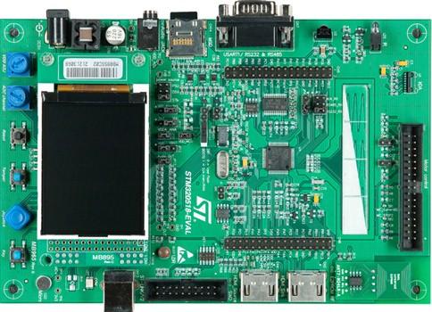 1.评估板:STM320518-EVAL(STM32F051R8)不推荐在新设计中使用