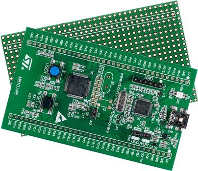 4. 探索板:STM32F0DISCOVERY(STM32F051R8)