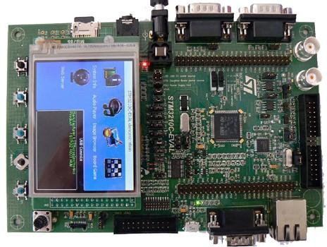 3.评估板:STM3210C-EVAL(STM32107VCT)