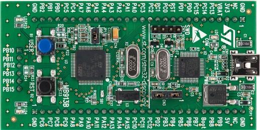 4.探索板:STM32VLDISCOVERY(STM32F100RB)