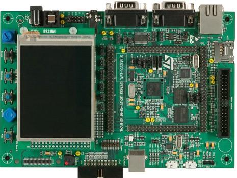 1.评估板:STM3220G-EVAL(STM32F207IG)