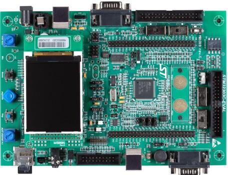 1.评估板:STM32303C-EVAL(STM32F303VCT6)
