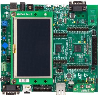 3.评估板:STM32429I-EVAL(STM32F429NI)