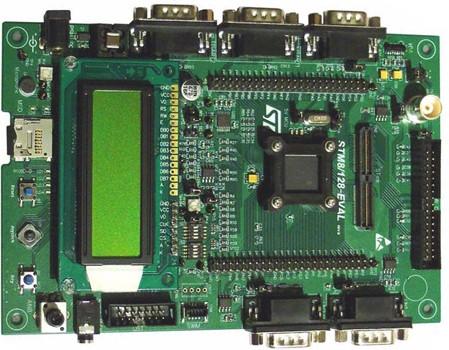1.评估板:STM8A/128-EVAL(STM8AF51AA)