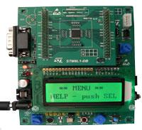 2. 评估板:STM8L101-EVAL(STM8L101)