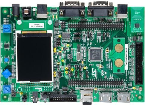 2.评估板:STM32072B-EVAL(STM32F072VB)