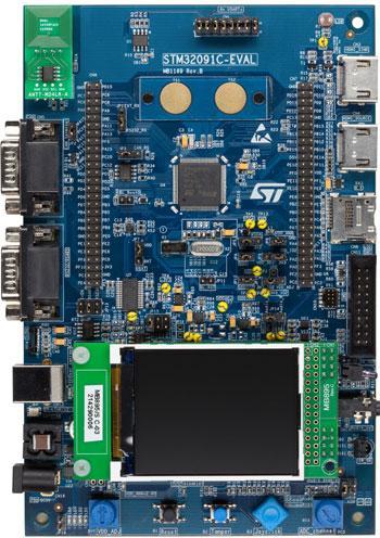 3.评估板:STM32091C-EVAL(STM32F091VCT6)