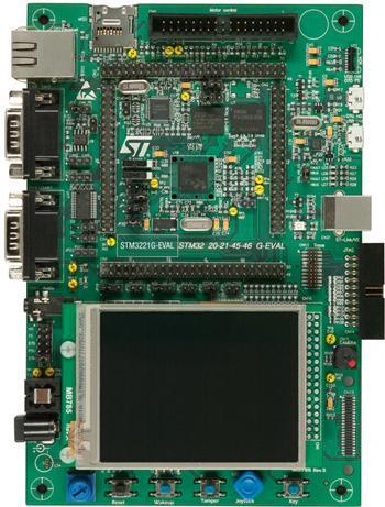 2.评估板:STM3221G-EVAL(STM32F217IGH6)