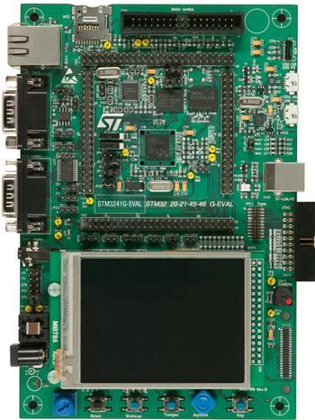 2.评估板:STM3241G-EVAL(STM32F417IGH6)