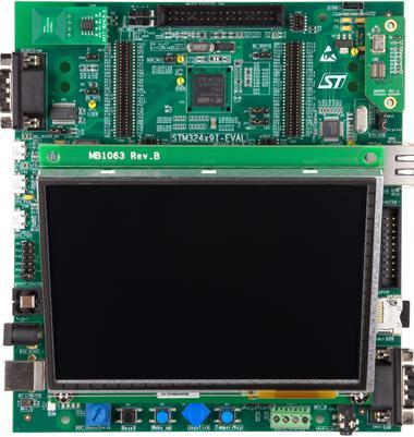 4.评估板:STM32439I-EVAL(STM32F439NI)