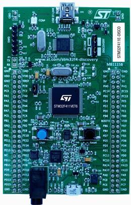 9.探索板:32F411EDISCOVERY(STM32F411VE)