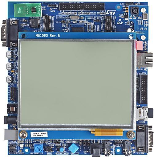 1.评估板:STM32746G-EVAL(STM32F746NGH6)