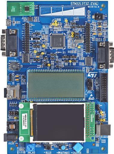 1.评估板:STM32L073Z-EVAL(STM32L073VZ)