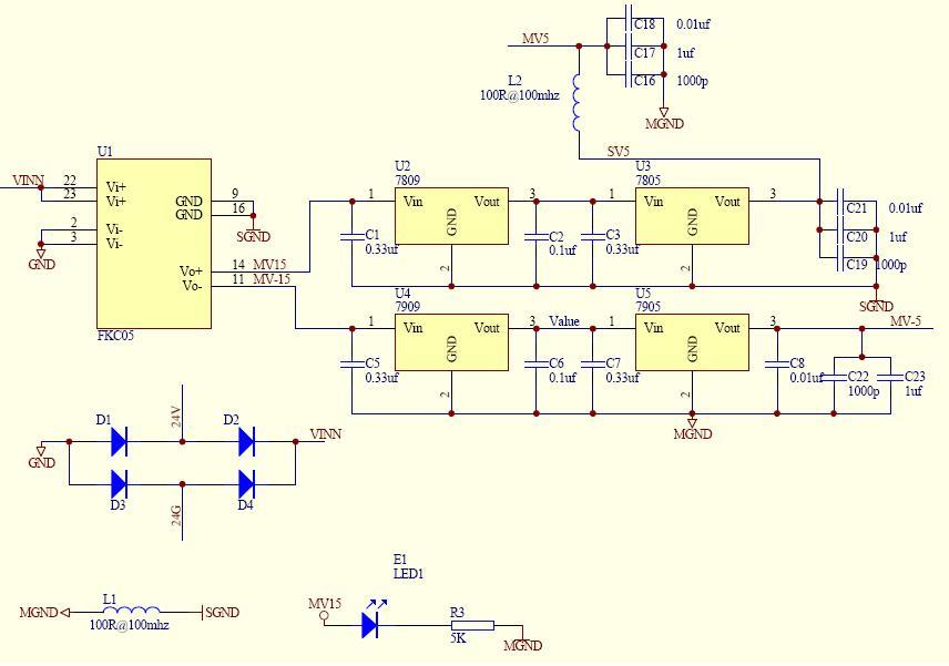 热电偶测温电路原理图
