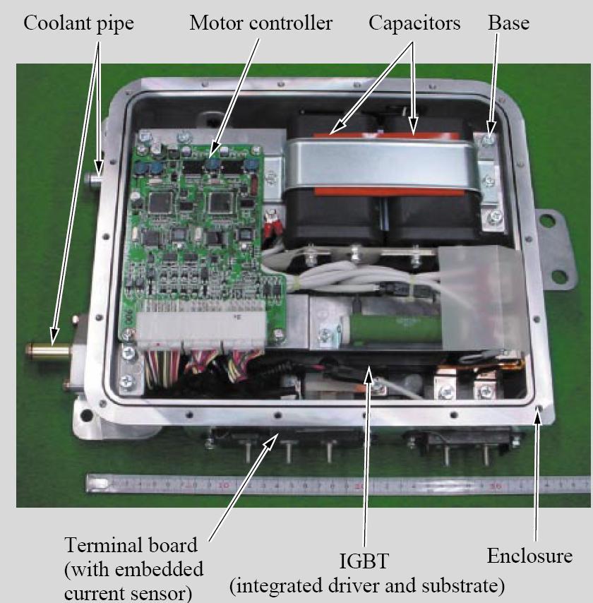 图解混合动力/电动车逆变器模块