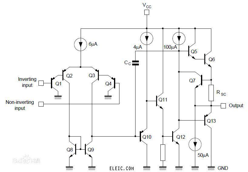 一般的运放是双电源供电的较多,我当时就思考怎么在普通运放下使用单