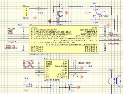 AS5055,使用MSP430单片机用于角度测量的应用和注意事项