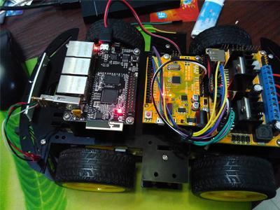 基于SOM9331的WIFI视频小车