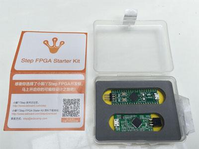 【小脚丫Step FPGA】众筹版开箱体验----微风细雨