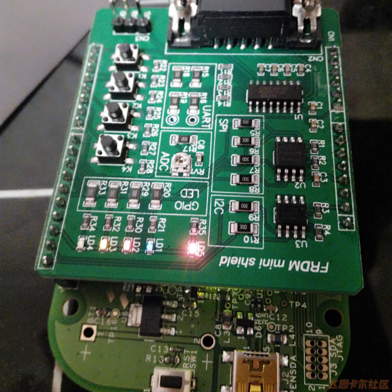 FRDM-KL02Z+Mini Dock 开发连载