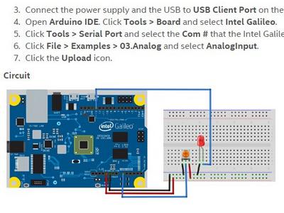 intel伽利略2代的arduinoIDE使用学习