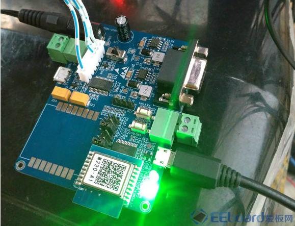 【小e2WiFiM303I-B评估板开箱和求教】