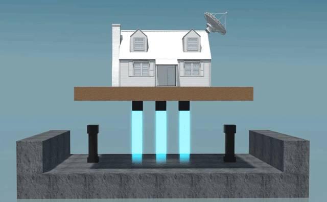 黑科技!传说中的磁悬浮房子来了