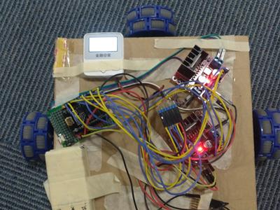 用Curie Nano来做一辆疯狂的四驱车(附视频&资料&代码)