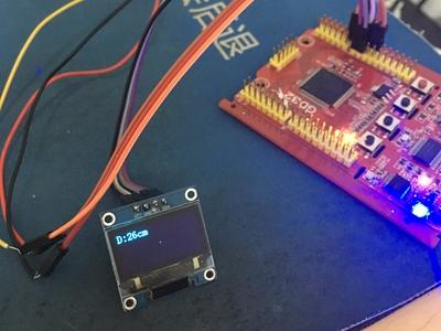 基于GD32用模拟信号输出的传感器做一个测距仪