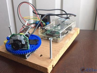 用树莓派 DIY 180度小球追踪摄像头