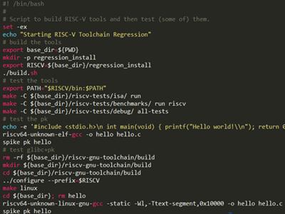 RISC-V Tools编译安装三部曲