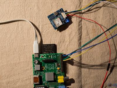 如何用树莓派连接GPS模块?