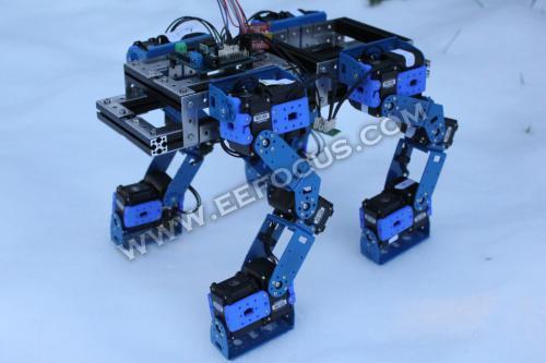 12自由度out了,工程师自制22自由度机器人
